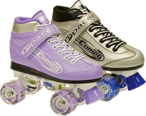 Pacer Comet Roller Skates With Light Up Wheels Connie S