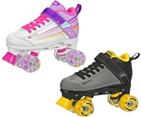 Pacer Comet Lite Roller Skates with Light-up Wheels