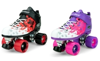 Dart Pixel  Speed Roller Skates in Pink and Purple or Red and Black