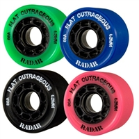 Flat Outrageous Derby Wheels (set of 8)
