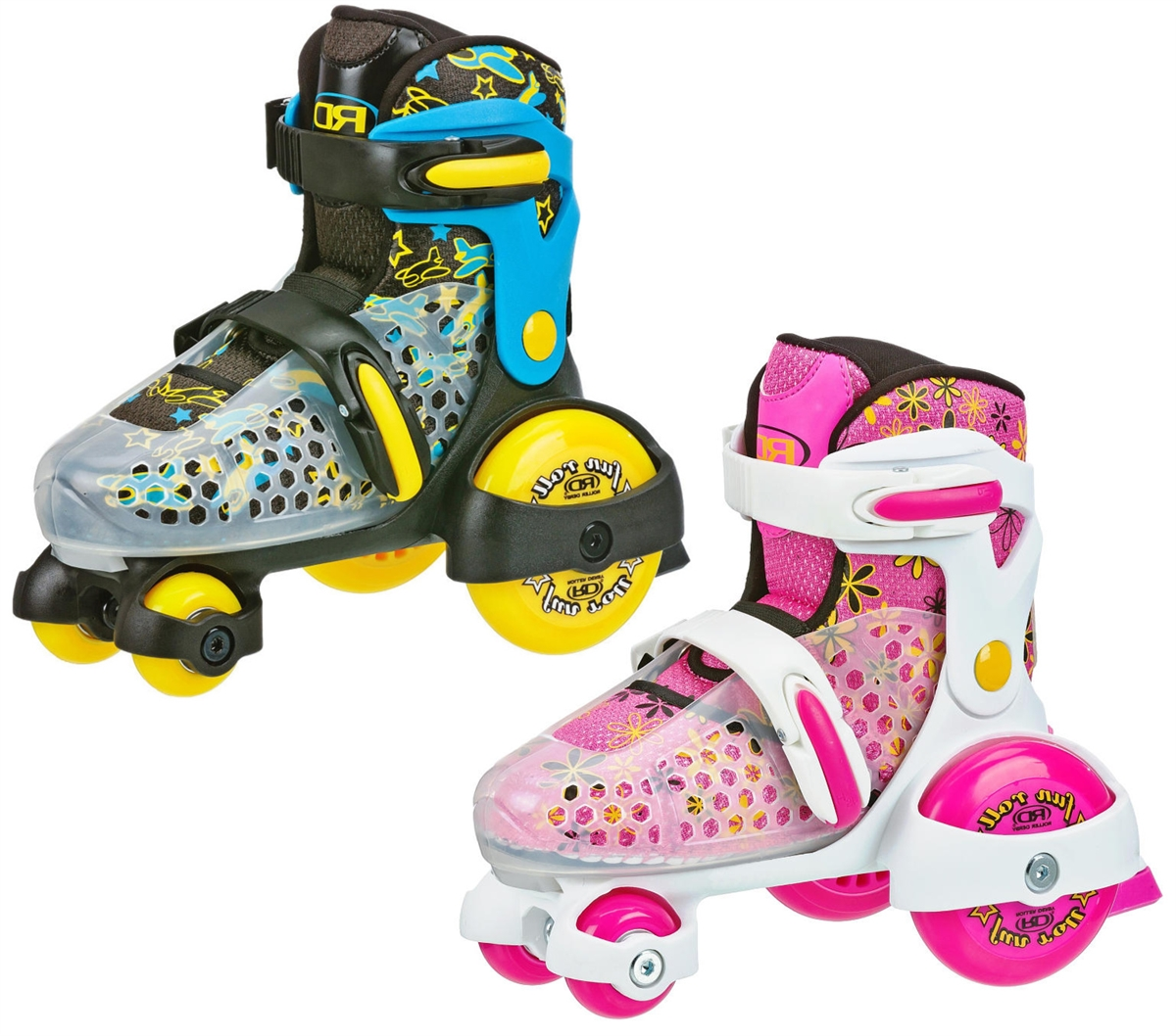 Pacer Fun Roll Kids Adjustable Roller Skates Connie S Skate Place