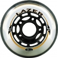 Lazer Recreational Inline Wheels (Set of 8)