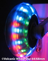 Star Inline Light-Up Wheels