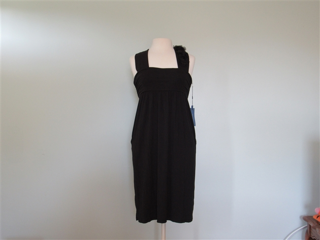 Simply Vera Medium Black Sleeveless Dress