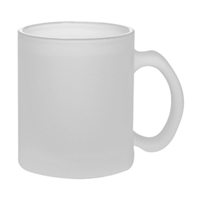 10 oz. Frosted Glass Mug - Orca