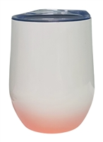 12 oz. Orca Stainless Steel Wine Tumbler - Pink Gradient