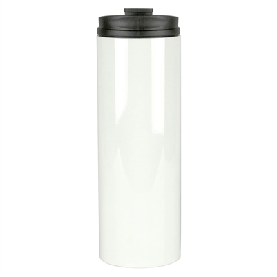16 oz Stainless Steel  Thermal Tumbler - White - Orca
