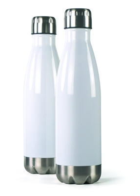 17 oz. Insulated Water Bottle - White