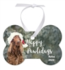 Unisub Aluminum Dog Bone Ornament