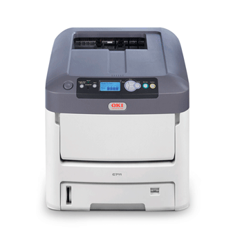 f0aade32 OKI proColor C711WT White Toner LED Laser Printer