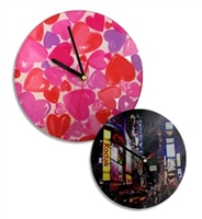 "Sublimation Glass Clock - 12"" Round - Glossy"