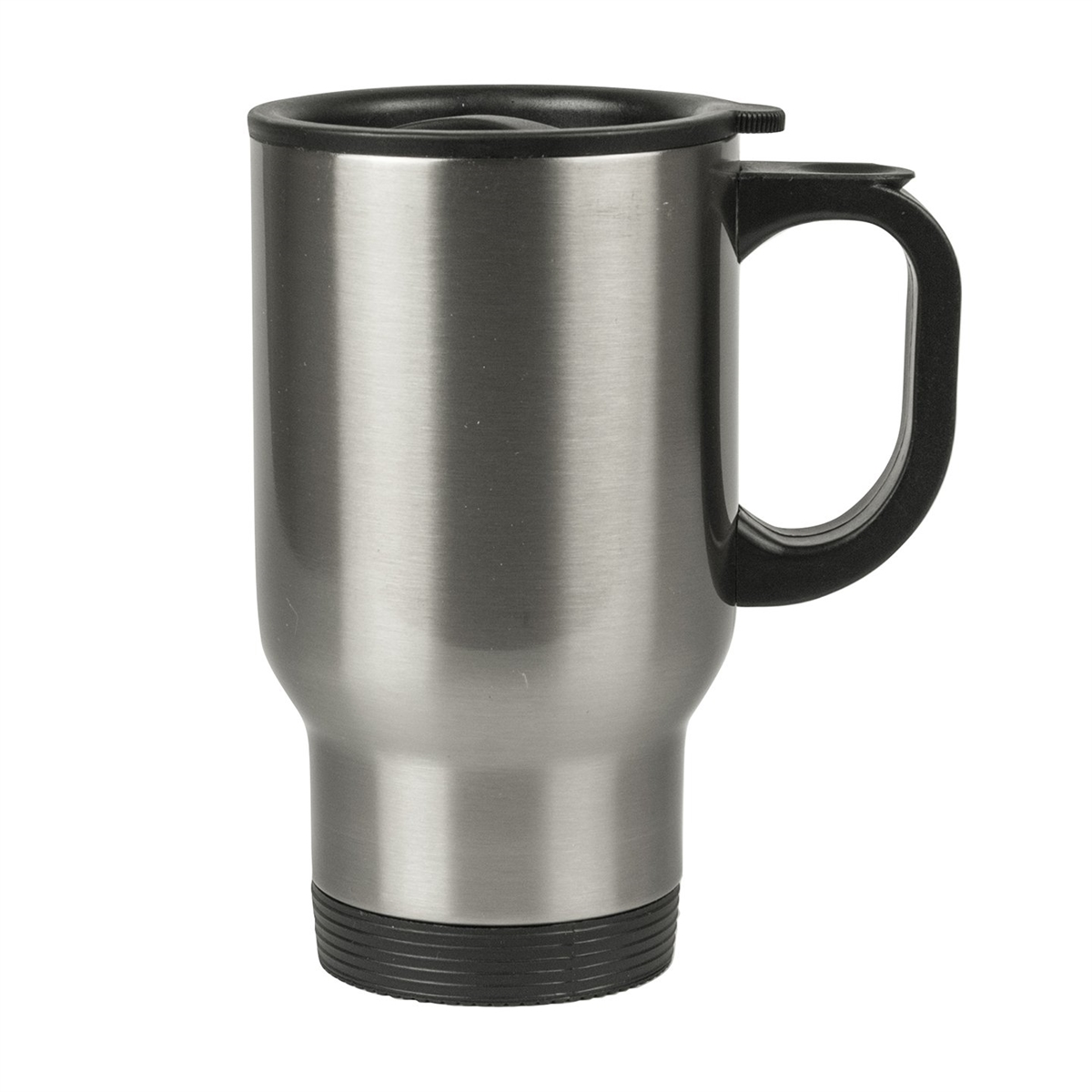 14 Oz Stainless Steel Travel Mug Silver