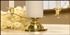 Unity Candle Holder-Gold