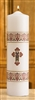 "4 Pack - 12"" Coronation Christ Candles"