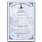 Profession of Faith Certificate 2-Color