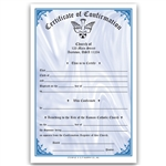 Confirmation Certificate  2 Color