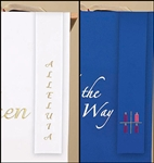 RVRSBLE BOOKMARK BLUE/WHITE