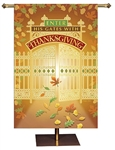 Thanksgiving Banner - 2' x 3' - Free Shipping