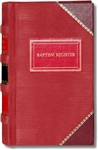 Church Baptism Register- Large