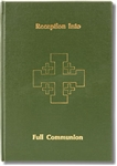 Church Register of Reception into Full Communion
