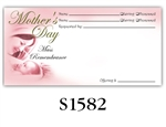 Mother's Day Mass Remembrance Envelope