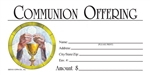 S6518 - Communion Offering Envelope - Full Color