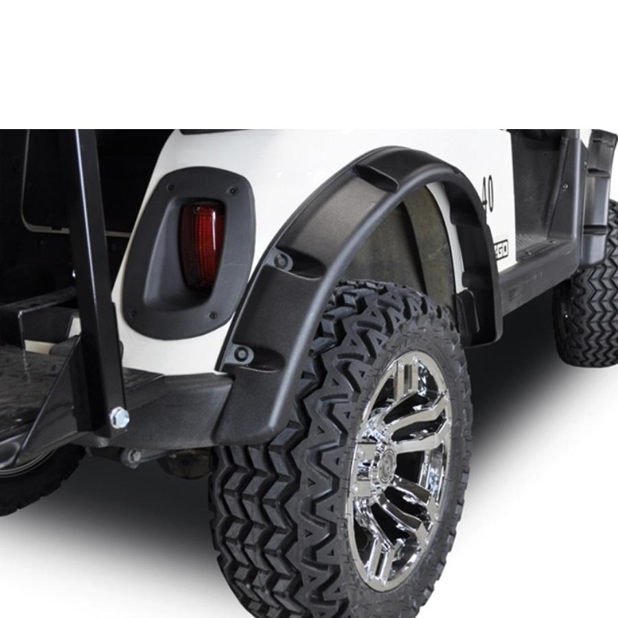 Madjax E-Z-GO RXV Fender Flares | Golf Cart Fender Flares | 03-031 on e-z-go golf cart, stens golf cart, club car golf cart, franklin golf cart, orlimar golf cart,