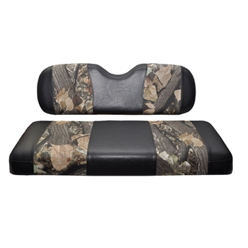 Club Car DS Madjax Seat Covers - Camo / Black