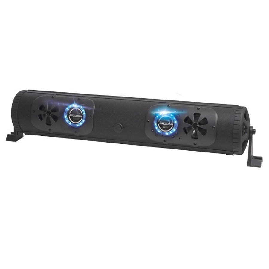 Bazooka G2 24 450 Watt Bluetooth Party Bar With Led Lights Wiring Sub Harness Double Sided