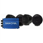 Innova Bluetooth 4-Channel Mini Amp with Speakers