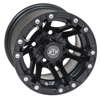 10X7 GTW Specter Offset Polished Aluminum Wheel