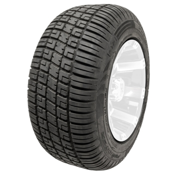 DOT Approved Steel Belted Radial Tire for E-Z-GO, Club Car, or Yamaha golf carts.