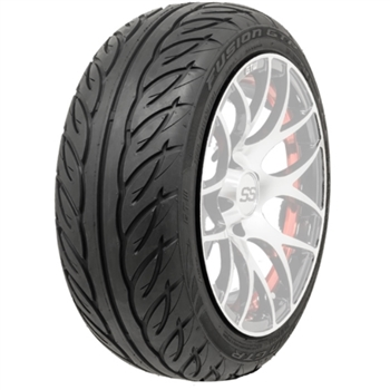 "Steel Belted Radial GTW Fusion Golf Cart Tires for 14"" Wheels"