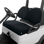 Terry Cloth Golf Cart Seat Cover - Black