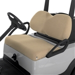 Terry Cloth Golf Cart Seat Cover - Tan