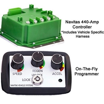 440 Amp Navitas Controller / Programmer Combo for Club Car IQ