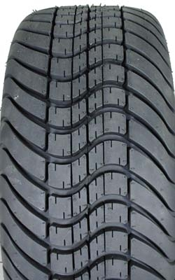 "22"" Tall Street Tire for Lifted Golf Carts 255/50-12"