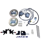Jake's Front Disc Brake Kit - E-Z-GO TXT (94.5-01.5)  non-lifted OR lifted w/ Long Travel