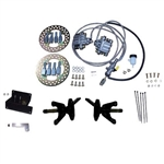 Jake's Front Disc Brake Kit - E-Z-GO TXT (01.5+)  non-lifted OR lifted w/ Long Travel