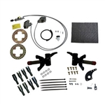 Jake's Front Disc Brake Kit - E-Z-GO RXV Electric  w/Spindle Lift