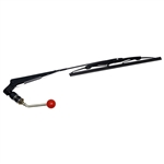 Windshield Wiper for Safety and Street Legal Golf Carts