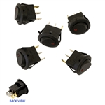 Toggle Switch w/ LED Indicator - Bag of 5