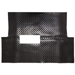 Diamond Plate Rubber Floor Mat for Club Car Precedent
