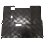 Diamond Plate Rubber Floor Mat for EZ GO TXT (01.5+)