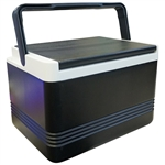 Igloo Legend 12 Cooler, Black, 9 Quart Capacity with Optional Bracket
