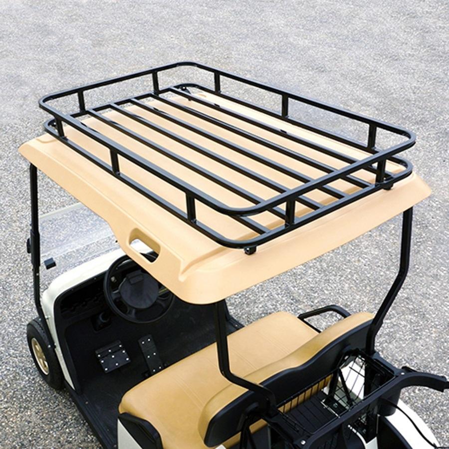 E-Z-GO TXT Roof Storage Rack | Golf Cart Roof Rack on golf cart windshield kits, golf cart speedometer kits, golf cart light kits, golf cart seat belt kits, golf cart trunk kits, golf cart speaker kits, golf cart canopy kits, golf cart dump bed kits, golf cart dash kits, golf cart dashboard kits, golf cart garage kits, golf cart carpet kits, golf cart frame kits, golf cart building kits, golf cart horn kits,