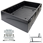 Club Car DS Thermoplastic Utility Box