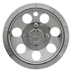 "10"" Beadlock Chrome Wheel Cover"