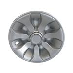 "RHOX Silver Hub Caps for Golf Carts with 8"" Wheels"
