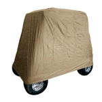 Light Duty Universal Golf Cart Storage Cover, Beige